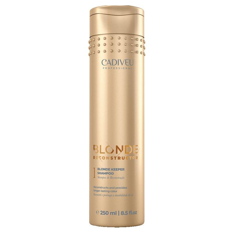 Cadiveu Blonde Reconstructor 1 Blonde Keeper Shampoo 250ml - Click to enlarge