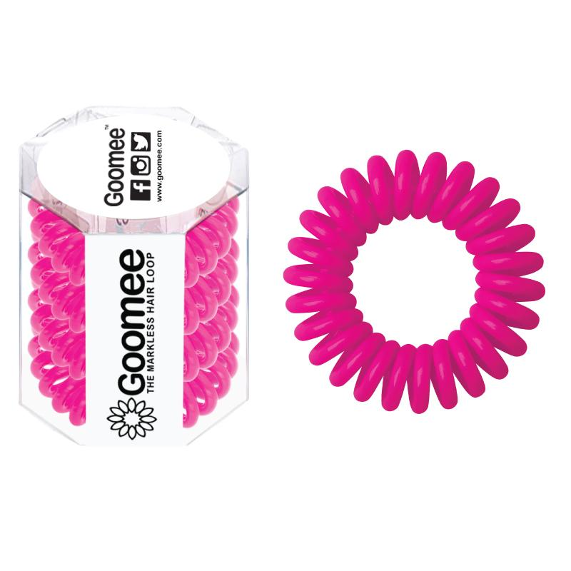 Goomee The Markless Hair Loop (Box of 4 pcs) - Panther Pink - Click to enlarge
