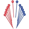 Plastic Roller Pins  100 Pieces - Click for more info