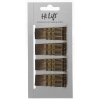 Hi Lift Bobby Pins Bronze  40 per Card - Click for more info