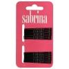 Sabrina Bobby Pins Black  24 per Card - Click for more info