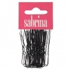 Sabrina Fringe Pins Black  50 pins per Bag - Click for more info