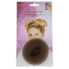 Hair Donut Small Brown 6cm 180209 - Click for more info