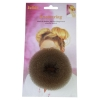Hair Donut Medium Brown 8cm 180210 - Click for more info