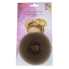 Hair Donut large Brown 10cm 180211 - Click for more info
