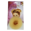 Hair Donut Medium Blonde 8cm 180214 - Click for more info