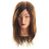 Hi Lift Mannequin Head Cortney - Medium Brown (30-35cm) - Click for more info
