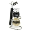 Shaving Brush with Stand and Razor  100% Pure Bristles - Click for more info