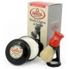 Shaving Brush with Stand and Soap  100% Pure Bristles - Click for more info