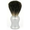 Matt Silver Handle  100% Pure Bristles - Click for more info