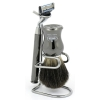 Shaving Brush with Stand and Razor  100% Pure Badger Bristles - Click for more info