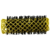Original Swiss Brush Rollers 20mm  Yellow (6 per pack) - Click for more info